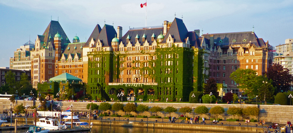 Winspire experience fairmonts in vancouver victoria for Best boutique hotels victoria bc