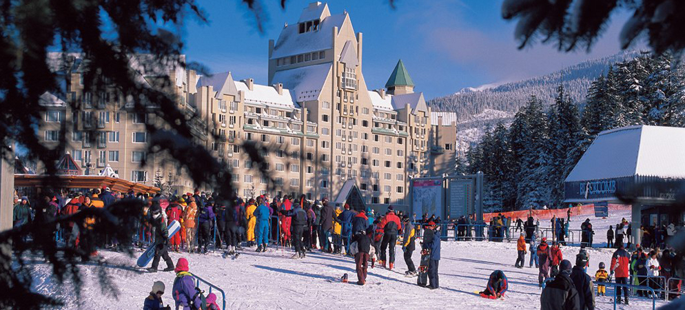 Fairmont Chateau Whistler Ski Getaway