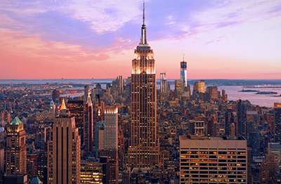 Live Auction Travel Packages to New York from Winspire