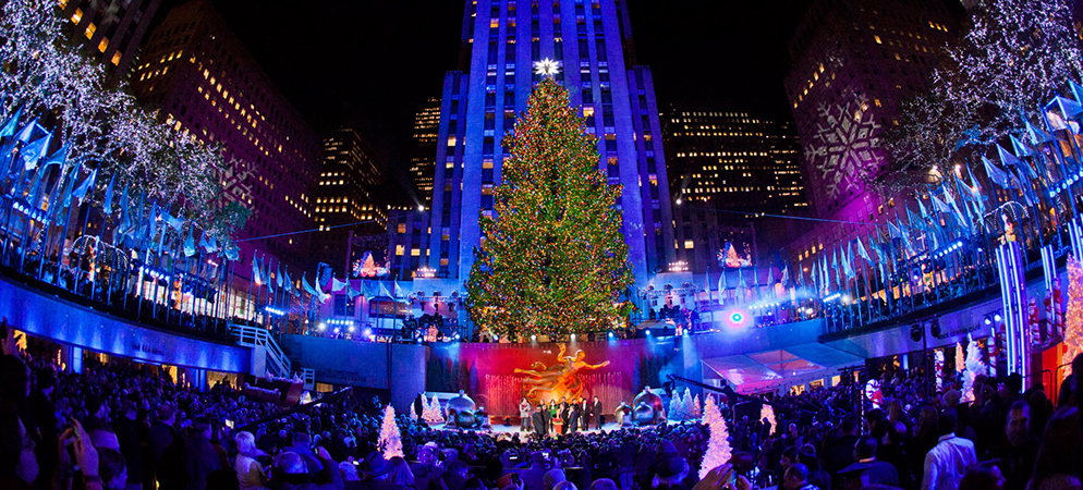 winspire experience rockefeller center tree lighting. Black Bedroom Furniture Sets. Home Design Ideas